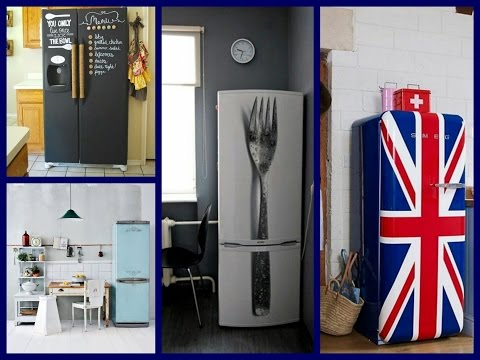 Fridge Makeover Ideas - DIY Kitchen Makeovers on a Budget
