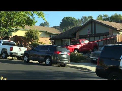 Images of US shooter Ian David Long's house