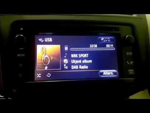 Dension DAB+U i 2012 Toyota Rav4