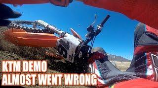 10. 2019 KTM demo day at Cahuilla Creek MX - crash and my bike pick!