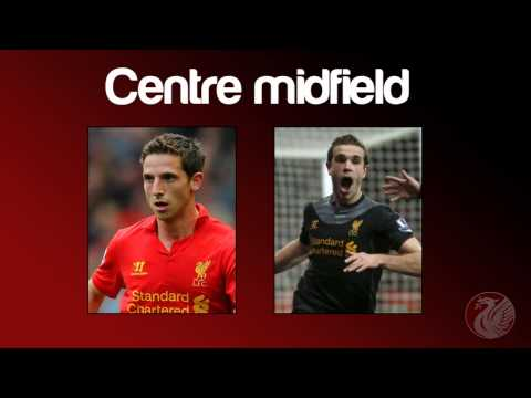 Liverpool FC: Team Of The Season 2012/13
