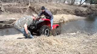 10. Grizzly 700 stuck