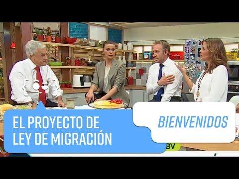 Sebastián Piñera y su proyecto de ley de migración | Bienvenidos