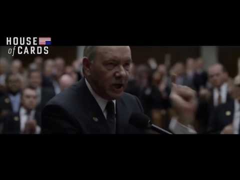 I will not yield, House of Cards, Season 5 Opening Scene
