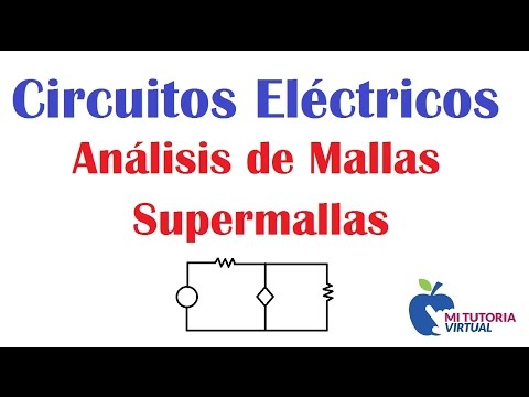 Analisis de Mallas - Supermallas - Circuitos Electricos - Video 092