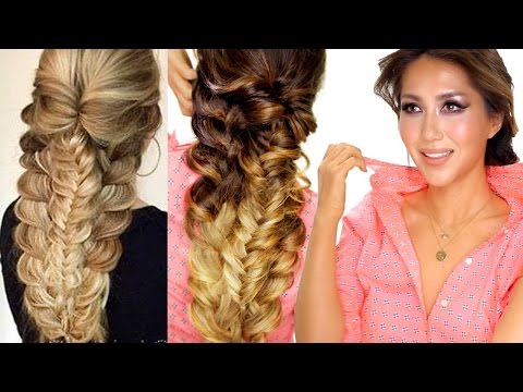 ★ EASY TOPSY-BRAID Hairstyle | Everyday Hairstyles | Prom & Graduation Hair