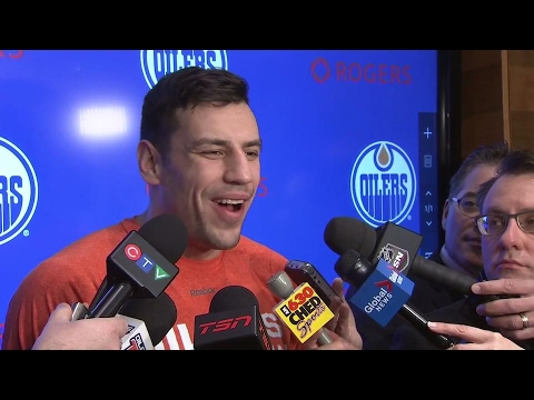 Video: Lucic enjoyed watching ex-mate Iginla star in Calgary again