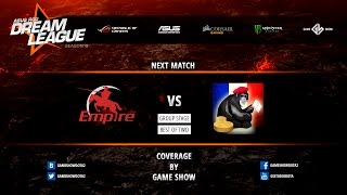 Empire vs MFF, game 1