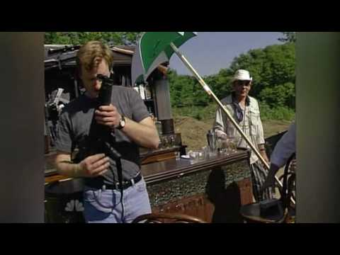 Hunter S Thompson and Conan drink hard liquor and shoot guns.