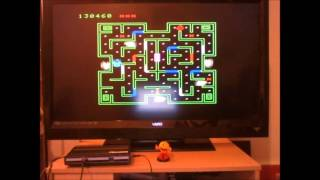 Mouse Trap: Skill 2 (Colecovision Emulated) by DuggerVideoGames