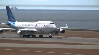 Video Garuda Indonesia Boeing 747-400 Landing & Take off at Nagoya (NGO) MP3, 3GP, MP4, WEBM, AVI, FLV November 2018