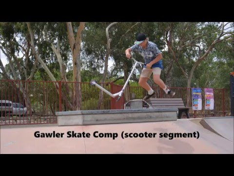 Gawler Skate Comp Scooters
