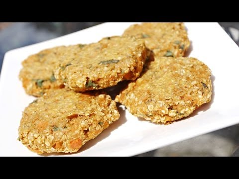 Sweet Potato Veggie Burger Recipe