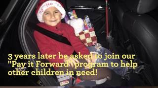4-year-old boy decides he wants to become a Hope Ambassador to help his own community!