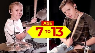 Heavy Metal Drum Covers (age 7 to 12) Image