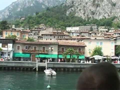 Lago di Garda Malcesine-Riva v.v. per boot
