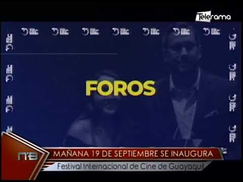 Mañana 19 de septiembre se inaugura festival internacional de cine de Guayaquil