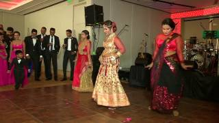 SRI LANKAN BEST WEDDING SURPRISE DANCE EVER BY THE BRIDE!!!