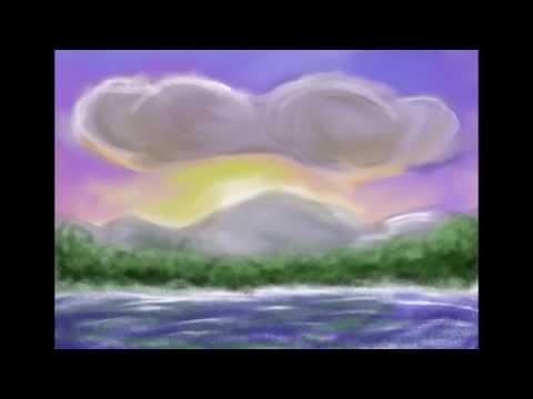 Maler på iPad video