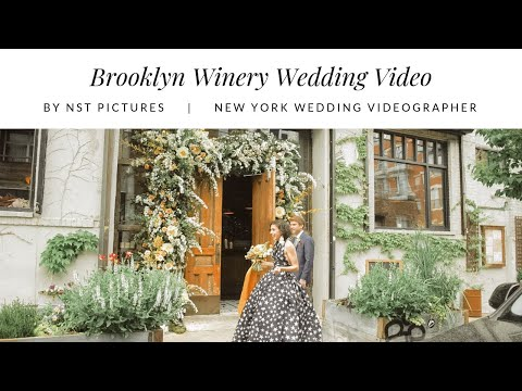 Ali & Mark - Brooklyn Winery New York City Artistic Wedding Video