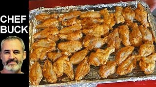 Cook a crispy chicken wings recipe in the oven for a healthier and less messy chicken wing dish. These chicken wings are super tasty right out of the oven, with ...