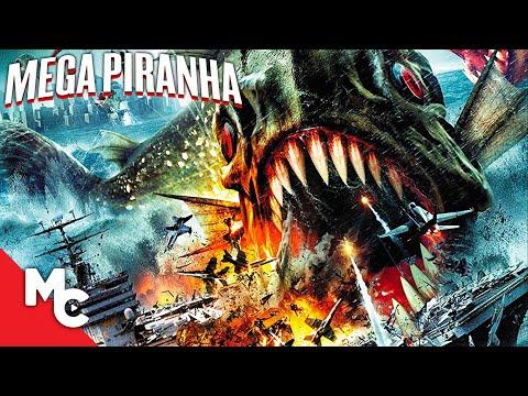 Mega Piranha   Full Action Adventure Movie