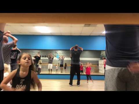 Daddy daughter dance rehearsal