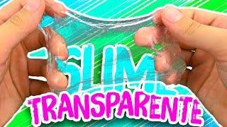 Прозрачный лизун просто!