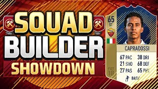 Video FIFA 18 SQUAD BUILDER SHOWDOWN!!! A LEGEND RETURNS!!! Crapradossi Squad Builder Showdown MP3, 3GP, MP4, WEBM, AVI, FLV Juni 2018