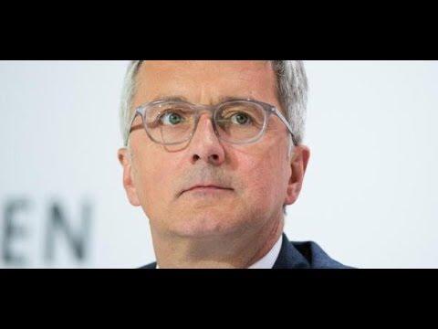 ABGAS-AFFÄRE: Audi-Chef Rupert Stadler vorläufig festgenommen