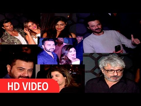 Anil Kapoor | Shilpa Shetty  | R Madhavan | Manish Paul At PR Rohini Bday Bash