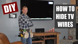 Download Video How to Hide TV Wires | Code Compliant TV Wiring MP3 3GP MP4