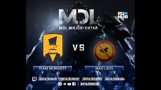 Team Moriarty vs Mad Lads, MDL EU, game 1 [Lum1Sit, Mortalles]