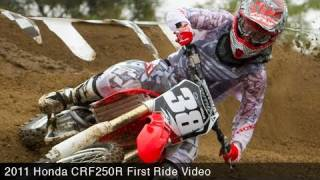 4. MotoUSA 2011 Honda CRF250R First Ride