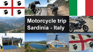 A motorcycle tour of 14 days to the island of sardinia (italy). Date: 7 - 20 september 2014 14 days - Driving 4500 km + 800 km by Ferry Day Begin - End ...