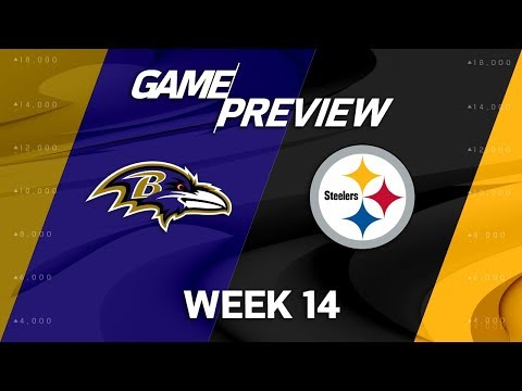 Video: Baltimore Ravens vs. Pittsburgh Steelers | NFL Week 14 Game Preview | Move the Sticks