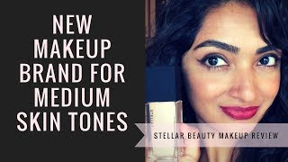 Medium Skin Tone Makeup- Stellar Beauty Products Review- Perfect for Brown/Tan/Olive Skin Tones!