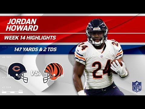 Video: Jordan Howard's 147 Rushing Yards & 2 TDs vs. Cincy! | Bears vs. Bengals | Wk 14 Player Highlights