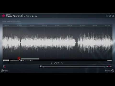 Como extrair áudio e separar faixas de um vídeo com Ashampoo Music Studio 6