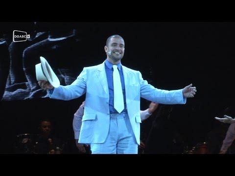 Diogo Nogueira convida público para show em Santo André; veja vídeo