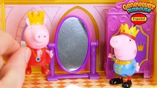 ¡Aprende los Palabras con Peppa Pig Castillo y Dragon!