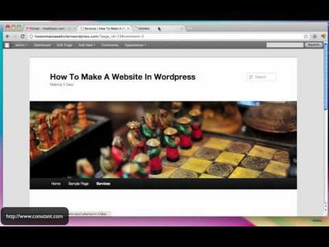 create - http://www.conutant.com Step by Step guide on how to make a website in Wordpress without any coding knowledge. Using the same platform as CNN, Jay-Z, Katy Pe...