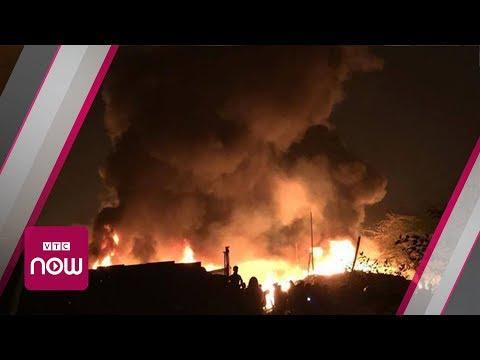 Hà Nội: Cháy nhà xưởng, 8 người chết và mất tích | VTC Now - Thời lượng: 0:46.