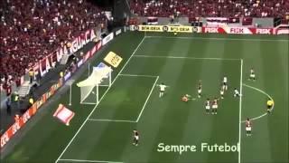 Flamengo x Coritiba pelo Campeonato Brasileiro segundo turno