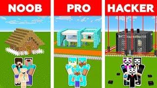 Video Minecraft NOOB vs PRO vs HACKER : SAFEST FAMILY HOUSE CHALLENGE in minecraft / Animation MP3, 3GP, MP4, WEBM, AVI, FLV Juni 2019
