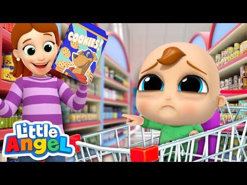 What's Wrong Baby John? | Emotions Song | Little Angel Kids Songs & Nursery Rhymes