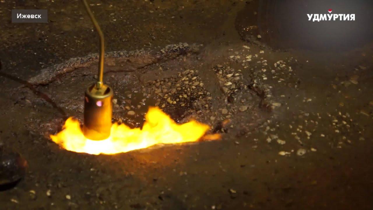 «Ночной дозор»: как в Ижевске ремонтируют дороги