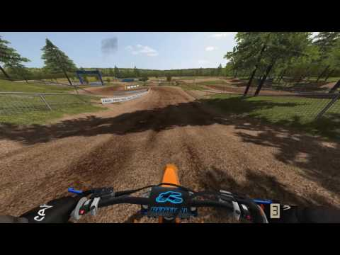 MX Bikes - Beta 5  Online Gameplay - Washougal with deformation!