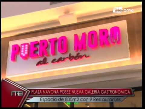 Plaza Navona posee nueva galería gastronómica espacio de 800m2 con 9 restaurantes