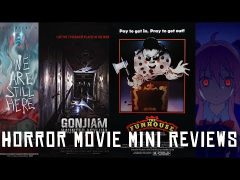 Horror Movie Mini Reviews | The Funhouse (1981(, We Are Still Here (2015), and MORE